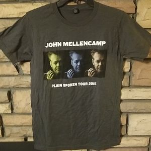 John Mellencamp shirt 2015 Plain Spoken Tour new